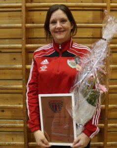 Monica Finnkirk hederstegn i bronse